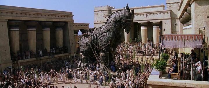 Троя. Троянский конь